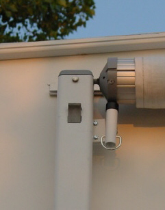 Photo of Lock installed on A&E (Dometic) 8500 awning.